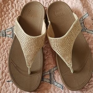 Fitflop sandal nude NWOT
